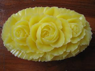 Soap Carving Roses